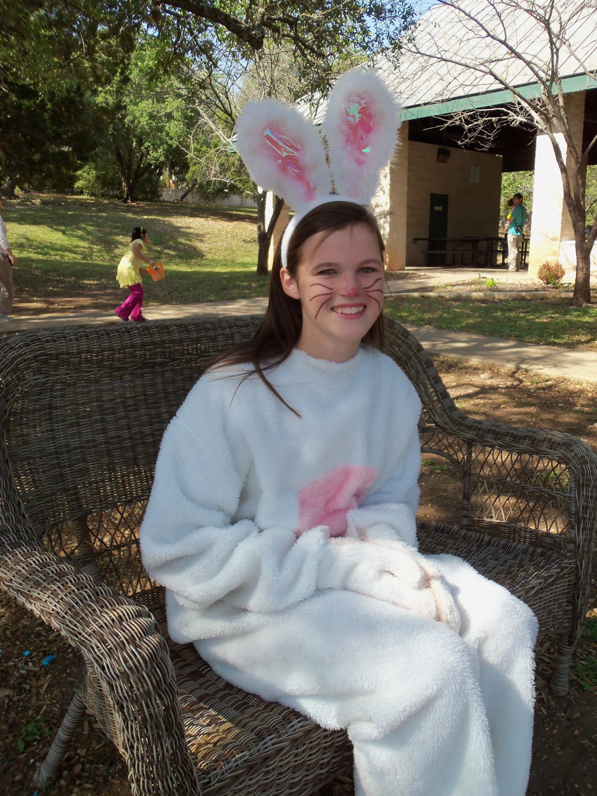 Dorie-&-Gene-provide-the-bunny-each-year